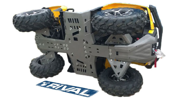 Защита днища для Brp Can-am Outlader G2 Max 500Max/650Max/800Max/1000Max/1000 X-MR с 2017-2018