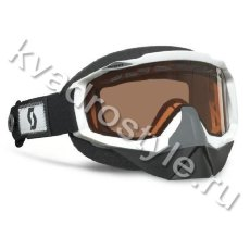 снегоходные очки scott hustle snowcross strap system white (355-6531)