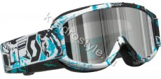 Кроссовые off-road очки scott 89 si pro vice chrome lens (355-6508)