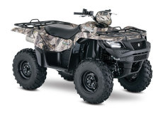 Квадроцикл SUZUKI KINGQUAD 500AXI TRUE TIMBER XD3 UFLAGE